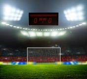 Stadionslichter Lizenzfreie Stockfotos