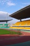 stadionspår Arkivfoton