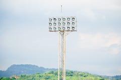Stadionsscheinwerfer Lizenzfreie Stockbilder