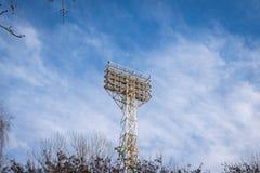 Stadionsscheinwerfer Stockbilder