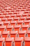 Stadionssitze Stockfotos