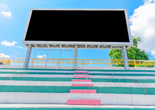 Stadionställningbräde Arkivbild