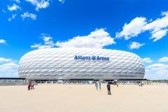 Stadionu futbolowego Allianz arena Obraz Stock