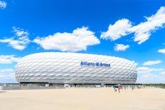 Stadionu futbolowego Allianz arena Zdjęcie Stock