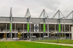 Stadionu futbolowego Borussia park Monchengladbach Fotografia Royalty Free