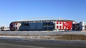 Stadionu futbolowego Spartak otwarcia arena w Moskwa Fotografia Royalty Free