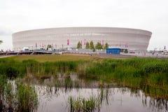 stadionwroclaw Royaltyfri Bild