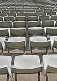 Stadionzuschauertribünen Stockfotos