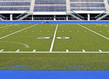 Stadium. Sports stadium with football field and track Stock Photography