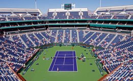 Stadium at 2009 BNP Paribas Open Royalty Free Stock Photo