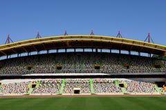 Stadium. Portuguese euro soccer stadium of FC Leiria Royalty Free Stock Photography