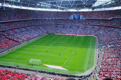 Stadium. Wembley Stadium in London, uk Royalty Free Stock Images