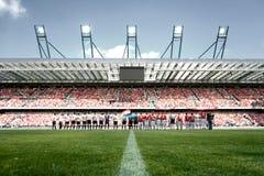Stadium. Crowded stadium of Wisła Kraków Stock Image