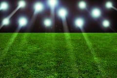 Stadium. Floodlight in a sport stadium Royalty Free Stock Image