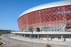Stadium. The part of stadium of Shanxi Sports Center Stock Image