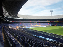 The stadium. The Dutch stadium for Soccer royalty free stock photos