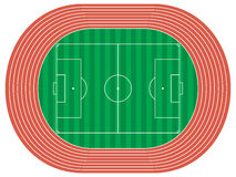 Stadium. Vector illustration of a stadium Royalty Free Stock Photography