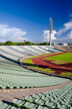 Stadium-5. Fragment of a Kirov stadium in Saint-Petersburg Stock Photos