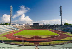 Stadium-5. Fragment of a Kirov stadium in Saint-Petersburg Stock Image