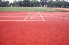 Stadium. Race track in a stadium royalty free stock image