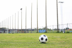 On the stadium. abstract football or soccer backgrounds Stock Photography