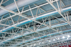 Stadium air ventilation Royalty Free Stock Photos