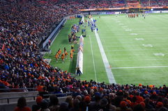 Stadium during American football game Stock Images