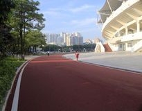 Stadium of amoy city Stock Photography