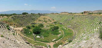 Stadium in ancient city Aphrodisias Stock Image