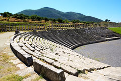 The stadium in ancient Messene Stock Image