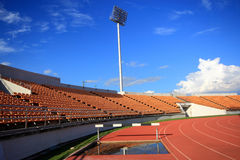 Stadium And Seat Royalty Free Stock Photography