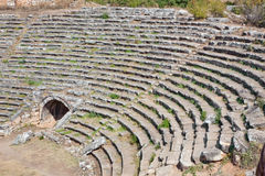 Stadium in Aphrodisias Stock Photography