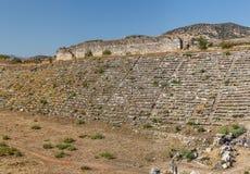 Stadium in Aphrodisias Royalty Free Stock Photos