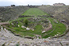 Stadium in Aphrodisias, Geyre, Aydin,Turkey Royalty Free Stock Image