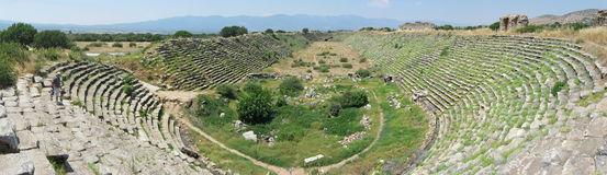 Stadium in Aphrodisias, Geyre, Turkey Royalty Free Stock Image