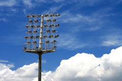 Stadium/arena lighting system Stock Photography