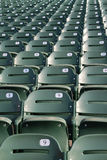 Stadium/Arena Seats Stock Photo