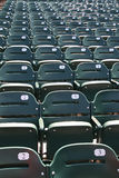 Stadium/Arena Seats Royalty Free Stock Photos