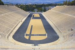 Stadium in Athens, Greece Royalty Free Stock Photography