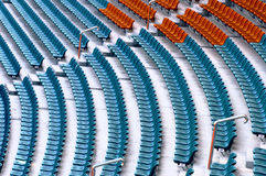 Stadium auditorium  Royalty Free Stock Photo