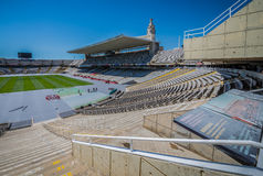 Stadium in Barcelona Royalty Free Stock Photography