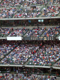 Stadium Baseball Crowd Royalty Free Stock Photography