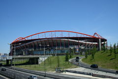 Stadium of Benfica Lisbon Royalty Free Stock Photos
