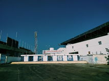 Stadium biały budynek Zdjęcia Royalty Free