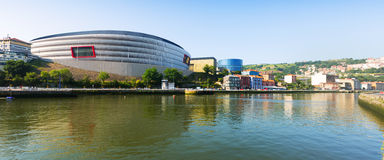 Stadium in Bilbao. Spain Royalty Free Stock Photography