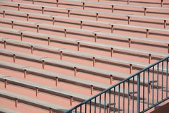 Stadium bleacher background Royalty Free Stock Photo