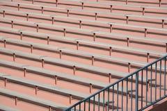 Stadium bleacher background Royalty Free Stock Photo