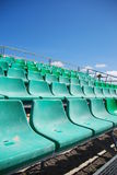 Stadium bleachers Royalty Free Stock Photos