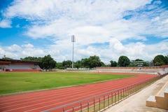 Stadium. The stadium on blue sky Royalty Free Stock Photography