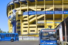 Stadium of Boca Juniors football team Royalty Free Stock Photography